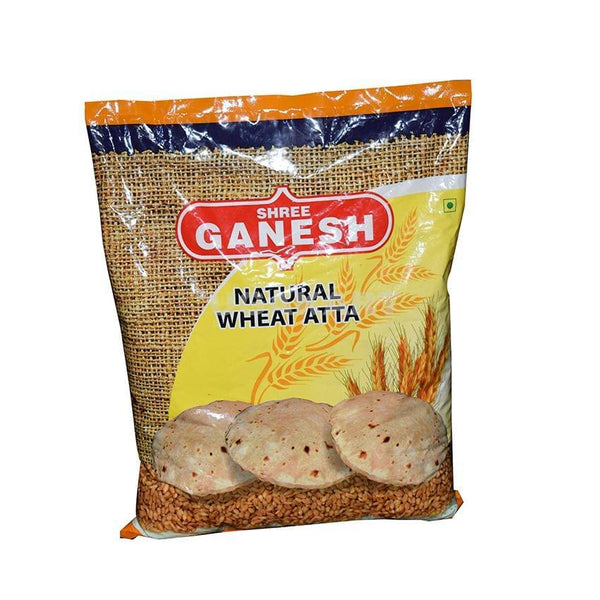 Ganesh Natural Wheat Aata 5Kg