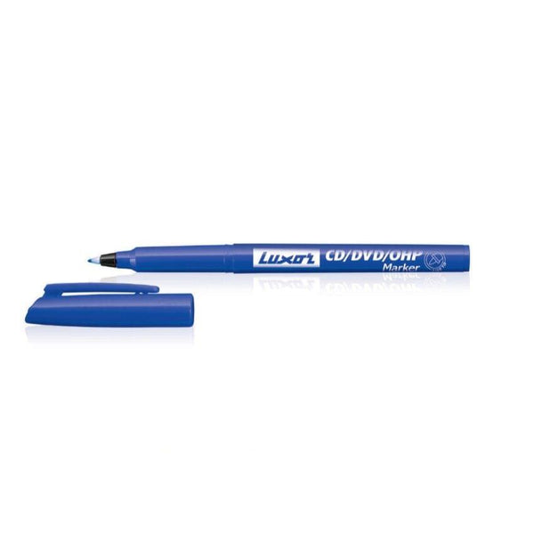 Luxor OHP Markers Blue Pkt(10 Pcs)