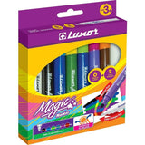 Luxor Magic Markers Pkt(8 Pcs)