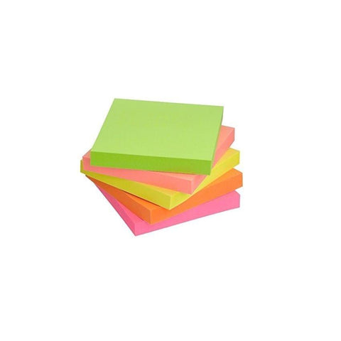 Sticky Notes 100 Pages Colours 3X3