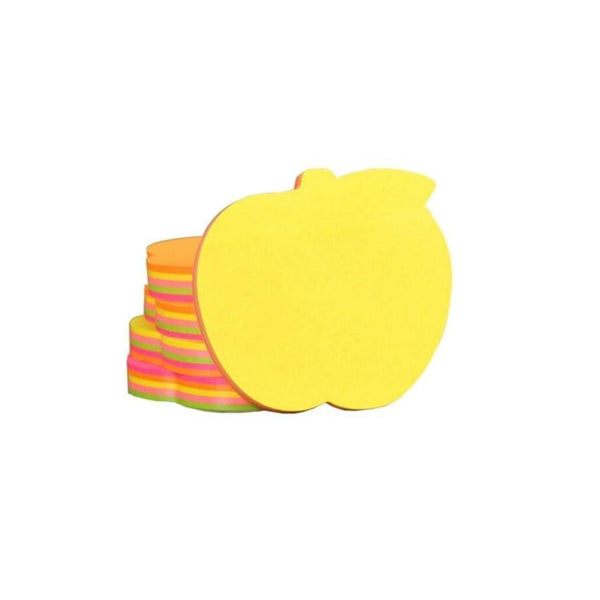 Sticky Notes 400 Pages Colours Apple Shape