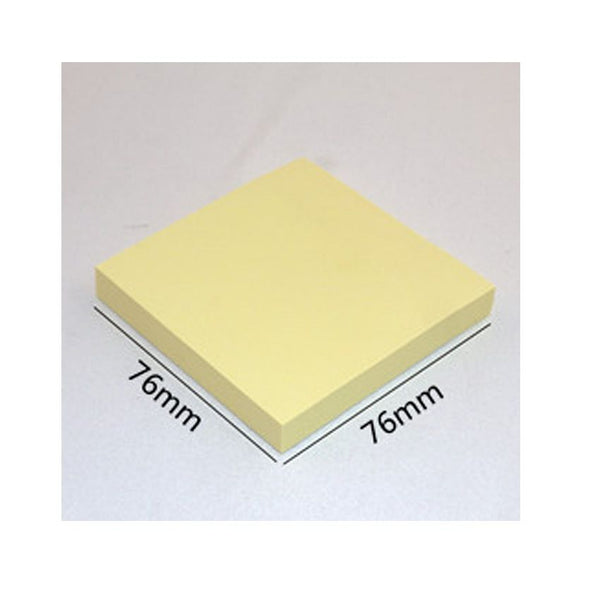Sticky Notes 100 Pages 3X3 Yellow Colour
