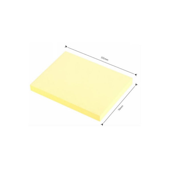 Sticky Notes 100 Pages 3X4 Yellow Colour