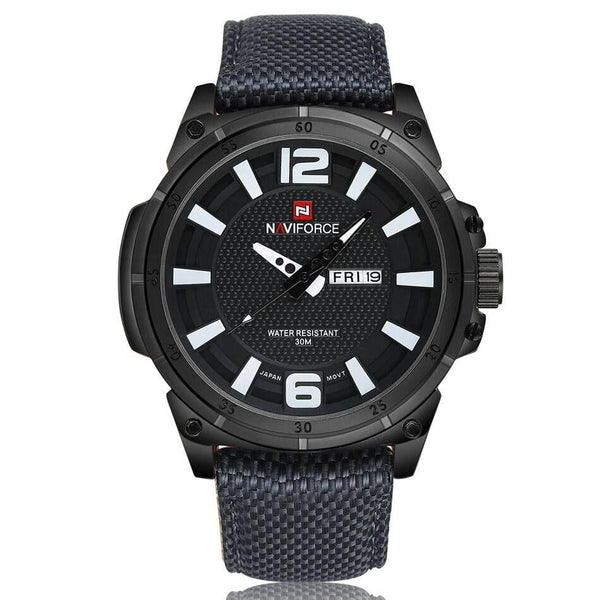 Naviforce Black Men's Watch 6