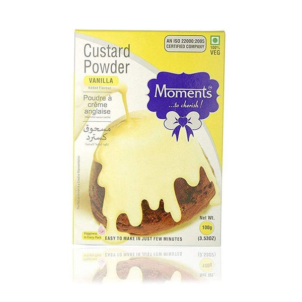 MOMENTS CUSTARD POWDER 100G VANILLA