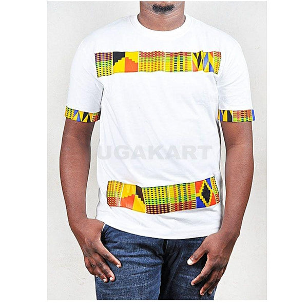 White African Kitenge Men's T-Shirt