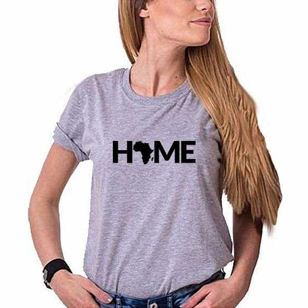 Home Africa Grey Women's T-Shirt