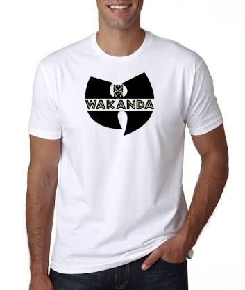 Wakanda White Men's T-Shirt