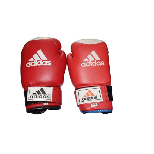 Adidas Red And White Boxing Gloves