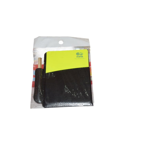 FIFA Referee Cards Yellow