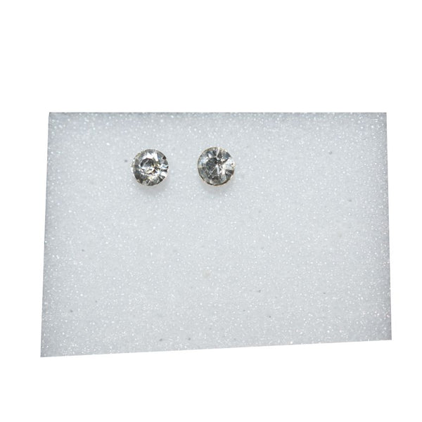 Small Earring With White Stone