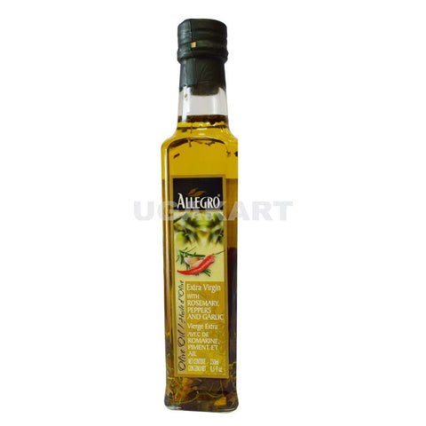Allegro Extra Virgin With Rosemary Peppers And Garlic 250Ml
