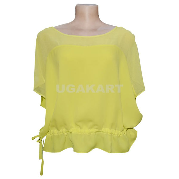 Light Yellow Color Top