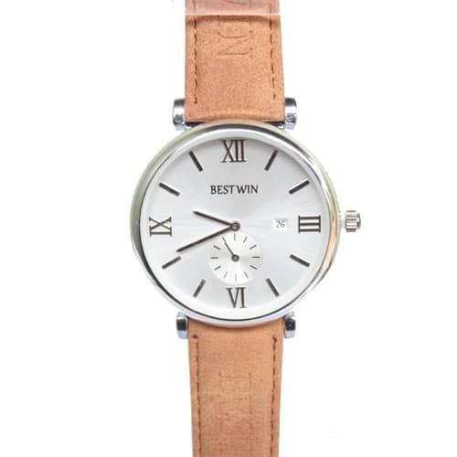 Bestwin Brown And White Mens Watch