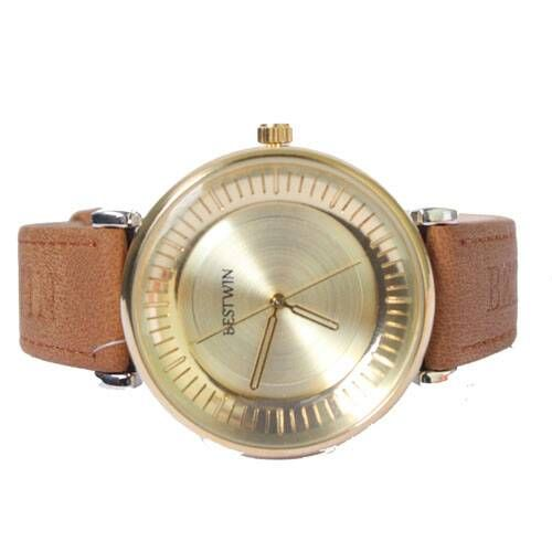 Bestwin Brown And Gold Watch