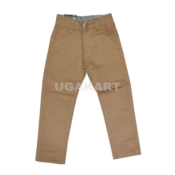 Khaki Kids Trousers