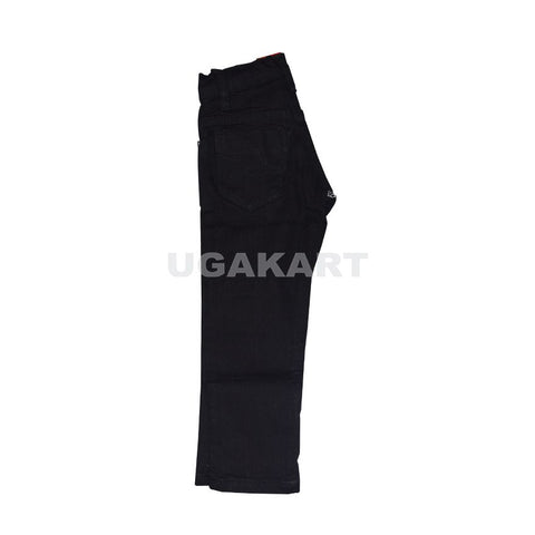 Black Kids Trousers (4 To 10 Yrs)