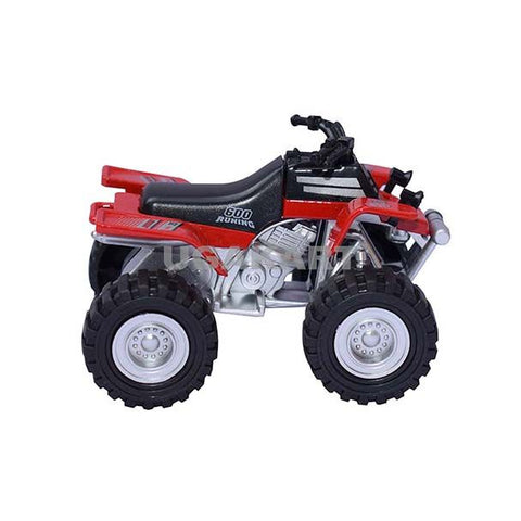 Alloy Model Beach Motorcycle for Kids (Red)`