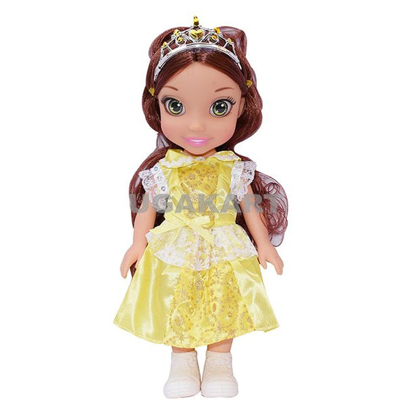 Sweet Fashion Yellow Doll With Brown Hairs