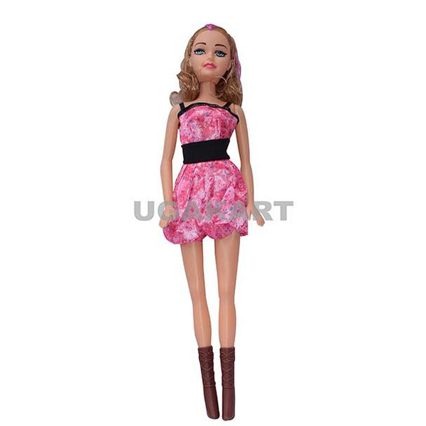 Barbie Doll With Pink Dress