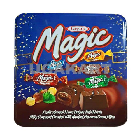 Tayas Magic Chocolate Tin Box 750 Gm