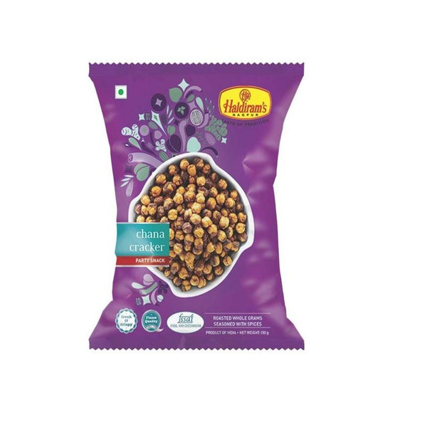 Haldiram's Chana Cracker Party Snack 150Gm