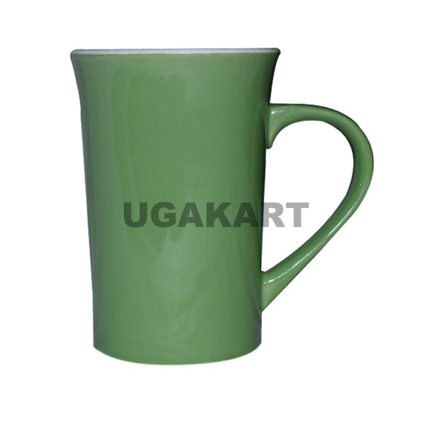Set Of Two Green Stommy Ceramic Mug