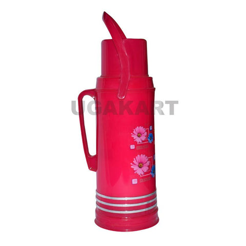 Vacuum Flask Pink Colour (2 Litre)