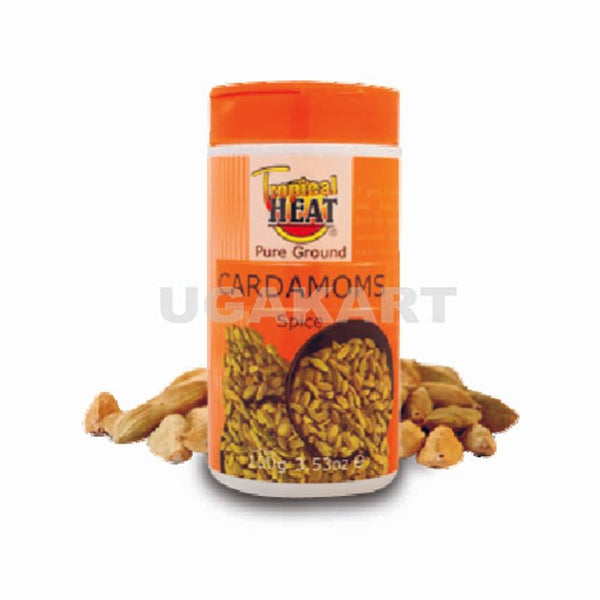 Tropical Heat Cardamoms Spice 100Gm