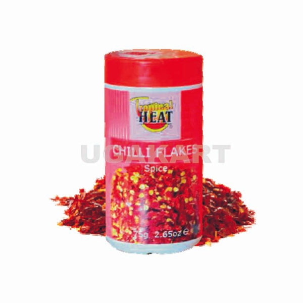 Tropical Heat Chilli Flakes 75Gm
