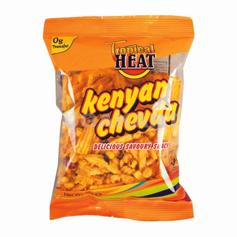 Tropical Heat Kenyan Chevda Delicious Savoury Snack 50Gm