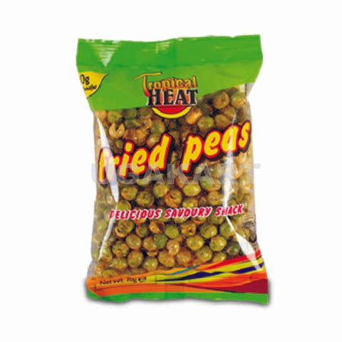 Tropical Heat Fried Peas Delicious Savoury Snack 70Gm