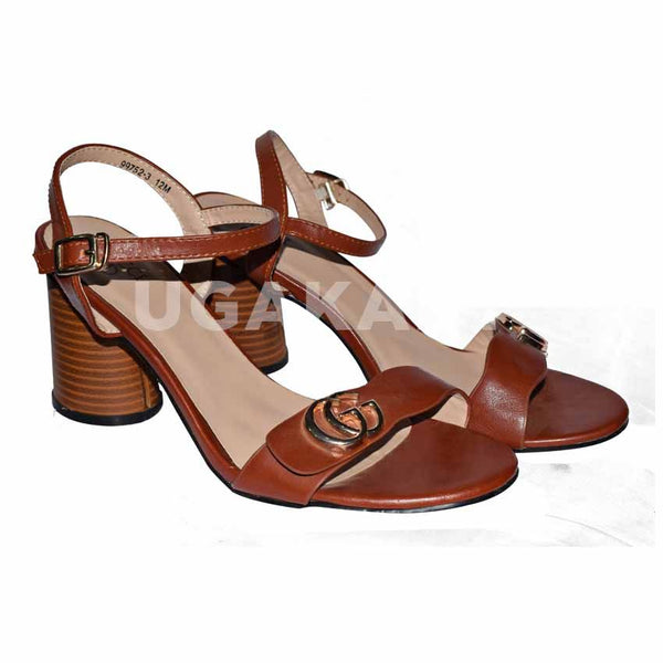 Gucci Brown Ladies Shoes