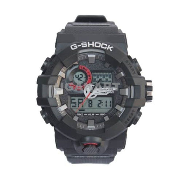 G-Shock Casio Analog And Digital Black Men's Dual Watch