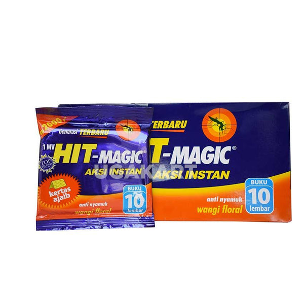 Hit Magic Aksi Instan Wangi Floral Box (24 Piece)