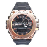 G-Shock Global System Black And Orange Men's Dual Watch