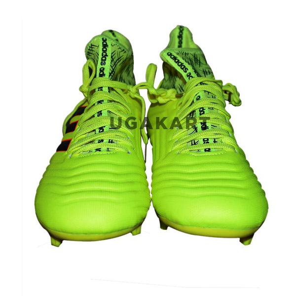 Addidas-Predator Lime Football Shoes