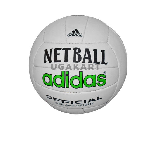 Addidas White Net Ball