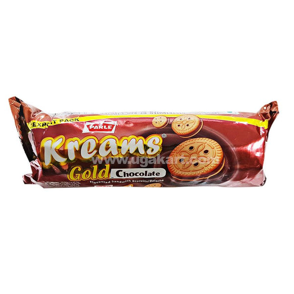 Parle Kreams Gold Chocolate Cream Biscuits 75gm