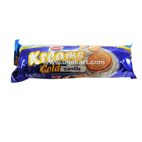 Parle Kreams Gold Vanilla Cream Biscuits 75gm