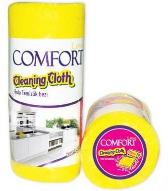 COMFORT LOVE KITCHEN CLEANING CLOTHS ROLLS 20 PCS