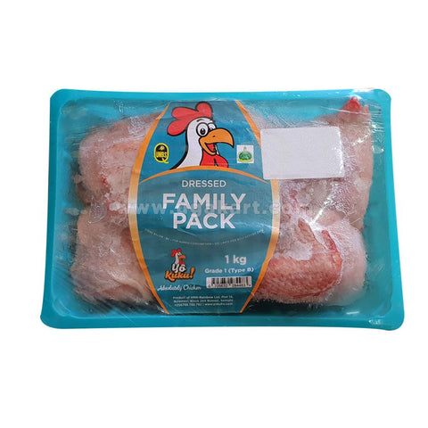 YO KUKU Dressed Family Pack 1kg