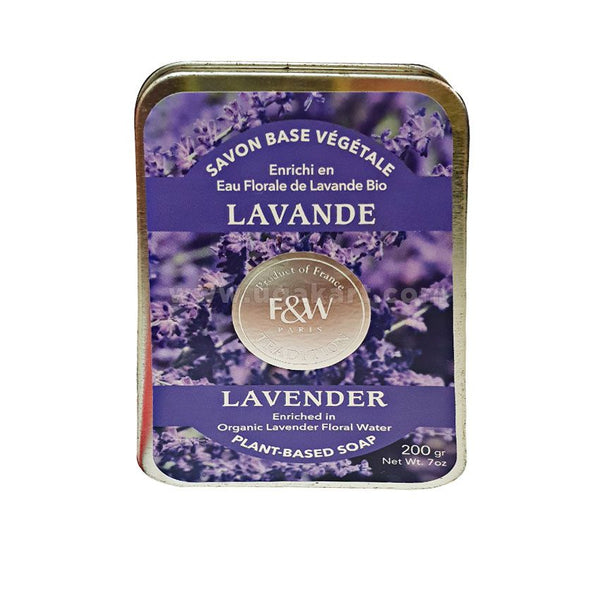 F&W Paris Tradition Lavender Plant Based soap 200gm