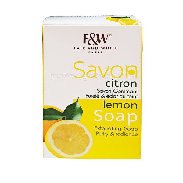 FAIR AND WHITE PARIS Savon Lemon Soap 200gm