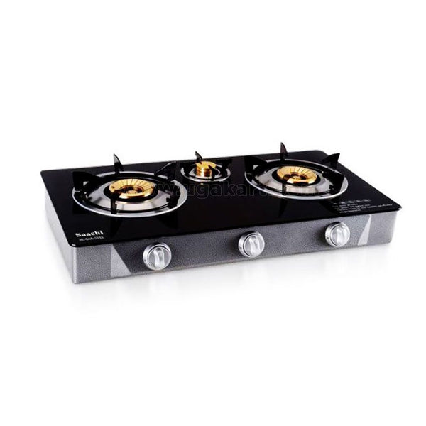 SAACHI Gas Stove with 3 Burners