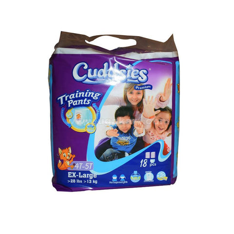 Cuddsies Training Pants Ex-Large 18 pcs (>13 kg)