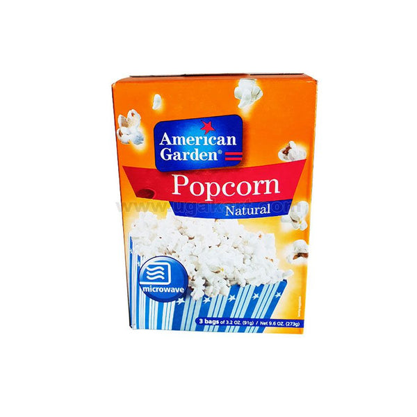 American Garden Porpcorn Natural 273gm