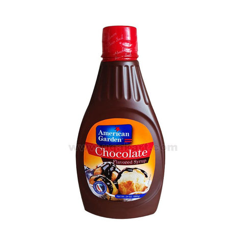 American Garden Chocolate Flavoured Syrup 680gm