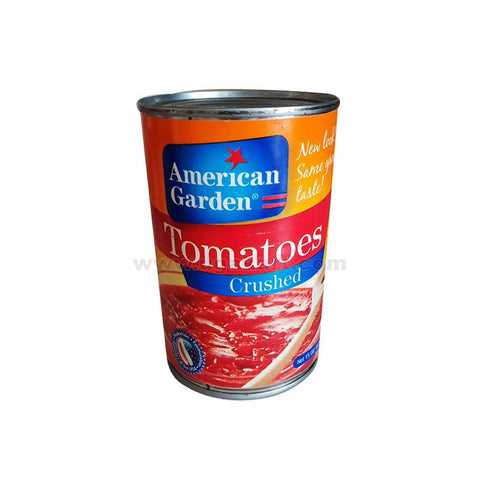 American Garden Tomatoes Crushed 425gm