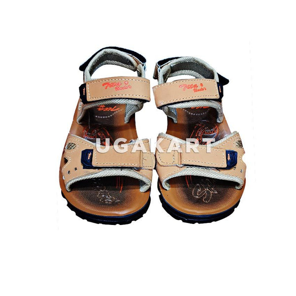 TIKA UNCLE'S chemal Brown Sandles 4 to 14 yrs